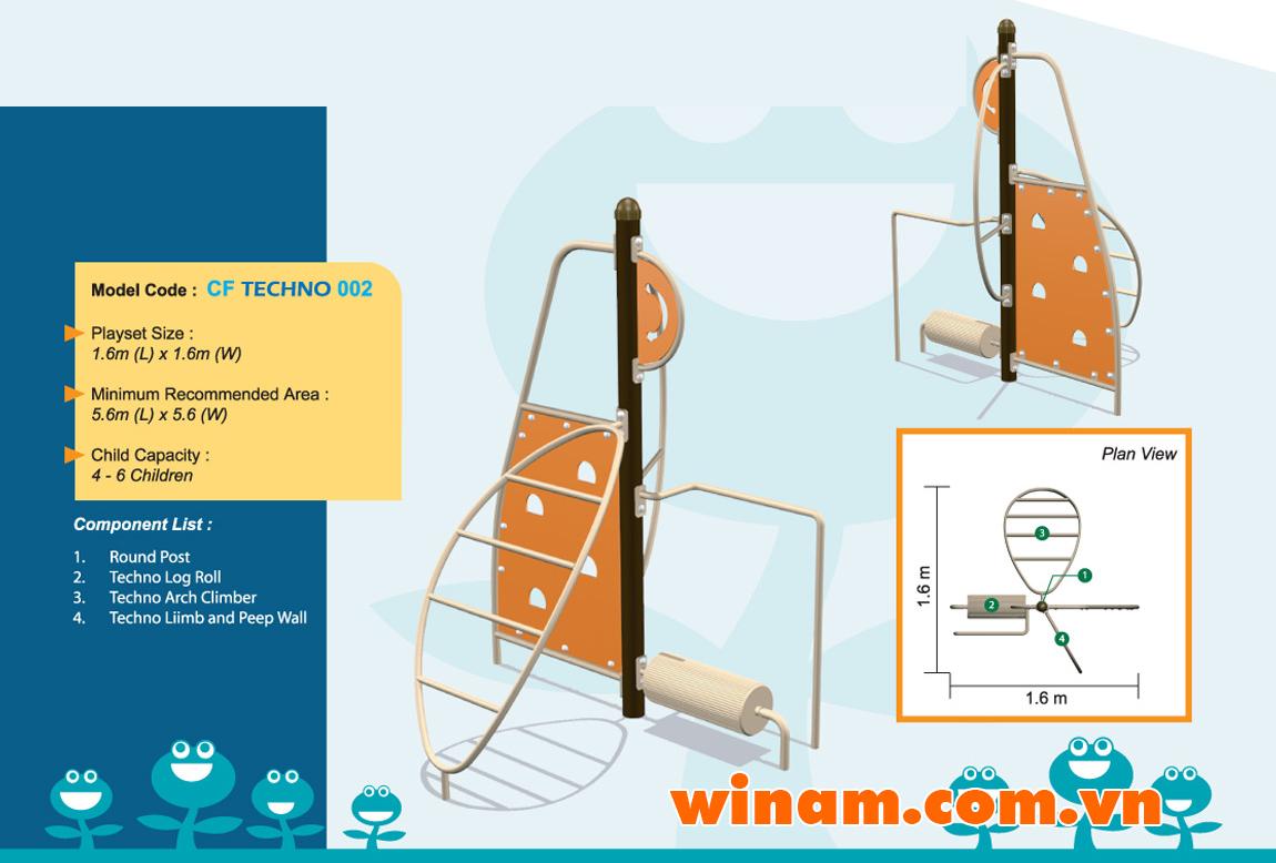 Thiết bị vận động cho trẻ - WINPLAY-MC-CF-TECHNO-002