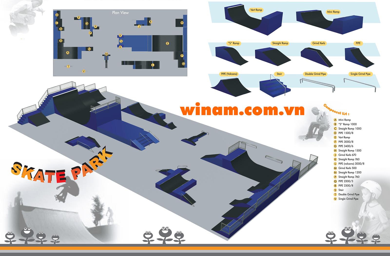 Thiết bị trượt ván - WINFIT-MC-CF-Truot-Van-001