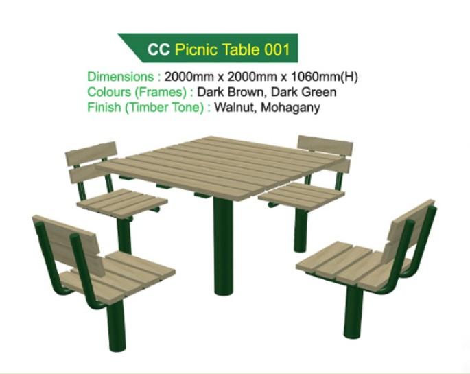 Bàn nơi công cộng - WINWORX-MC-CC-Picnic-Table-001