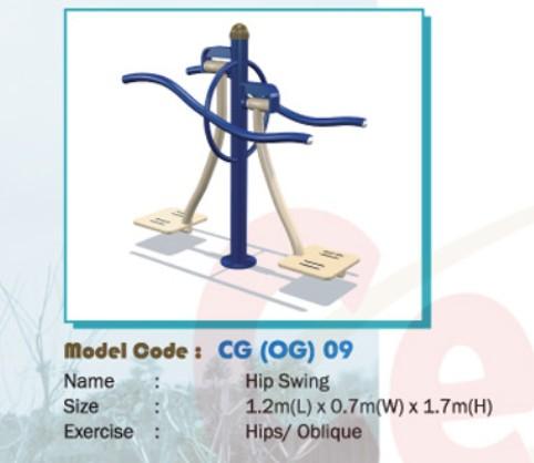 Thiết bị tập thể dục - WINFIT-MC-CG-OG-09