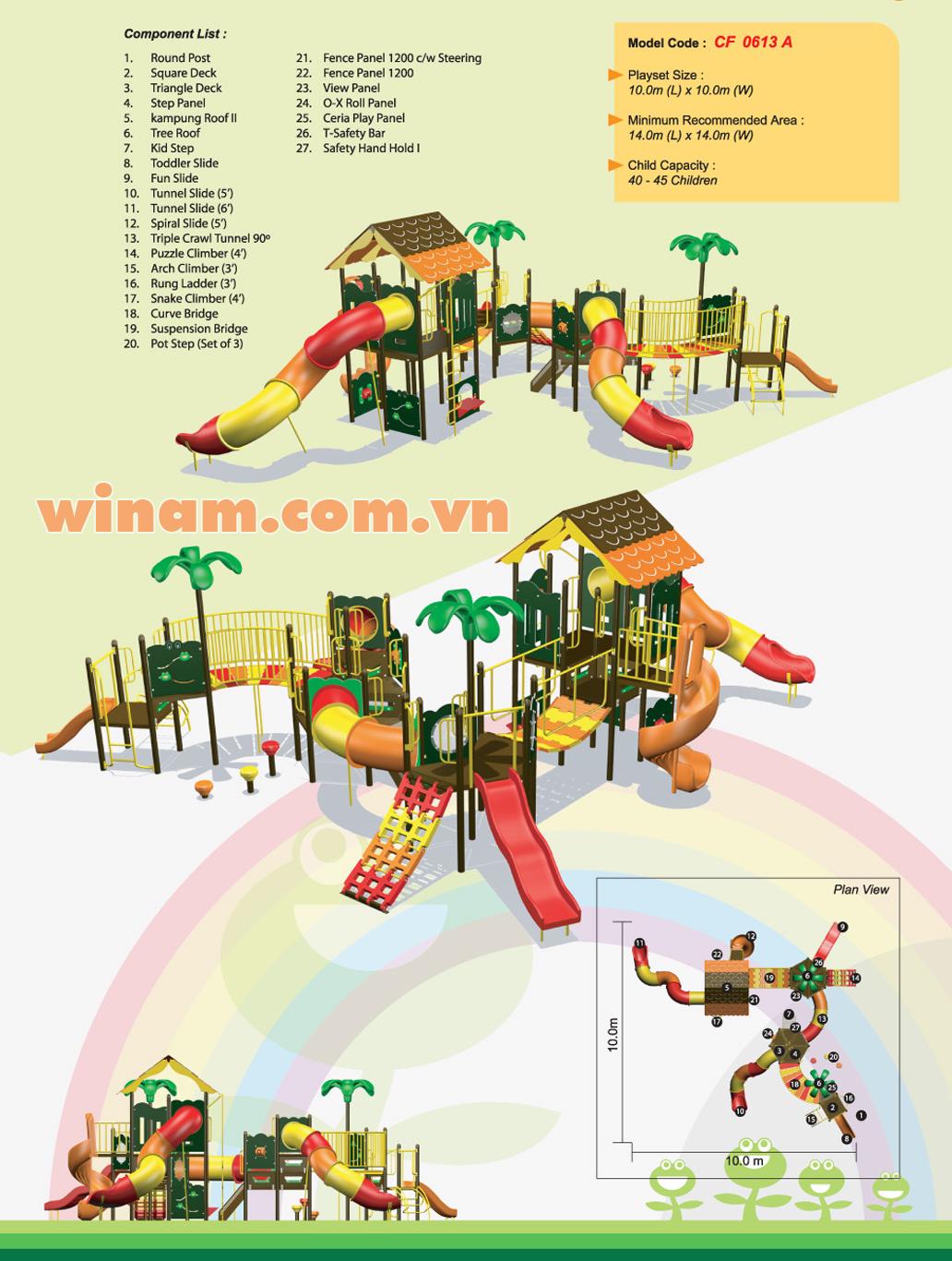 Khu vui chơi liên hoàn - WINPLAY-MC-CF-0613-A